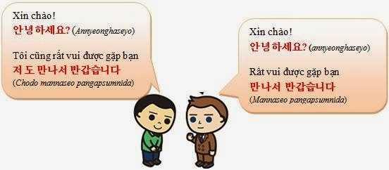 Giao tiếp cơ bản trong tiếng Hàn